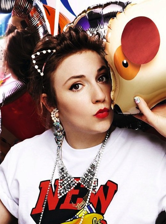 Lena Dunham: another Gen Y'er who just expects handouts... in exchange for her hard work, talent, and courage to break new ground.