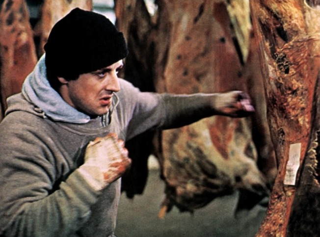 Rocky has such a heart of gold he takes personal responsibility for tenderising all of Philadelphia's meat.